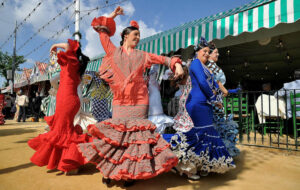 De Feria de Abril in Sevilla
