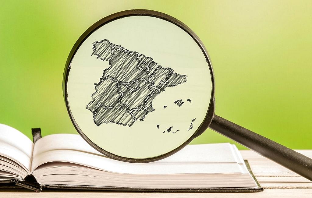 Spanje in kaart gebracht