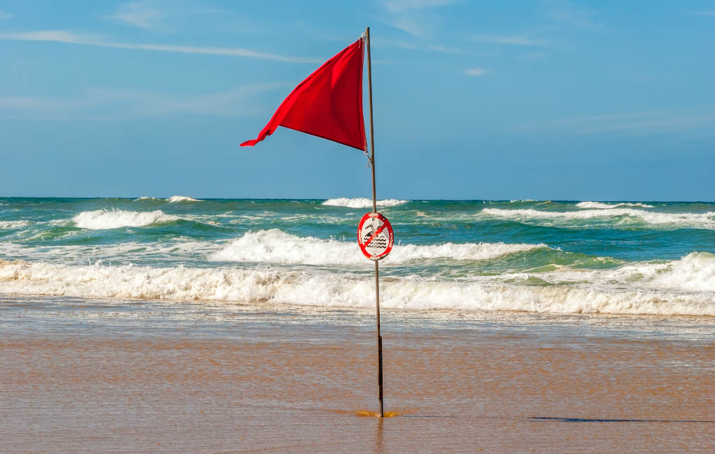 Uitleg Gekleurde Vlaggen Stranden Spanje
