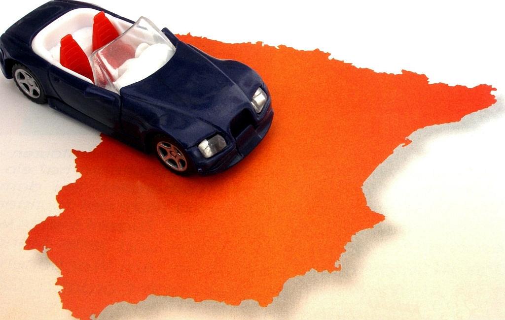 Hoe lang is het rijden naar Spanje