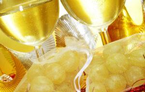 De 12 oudejaarsavond druiven in Spanje