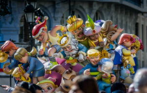 De Fallas feesten in Valencia