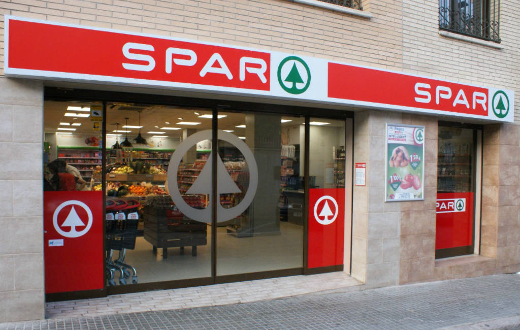 De SPAR supermarkt in Spanje