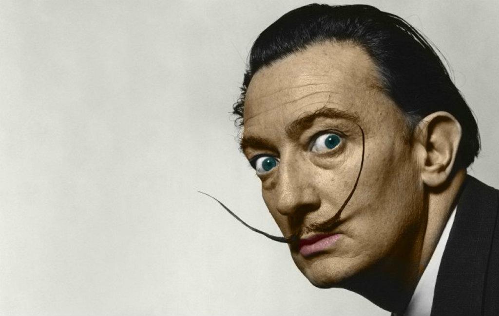 Spaanse kunstenaar Salvador Dalí