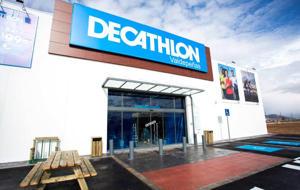 De Decathlon In Spanje