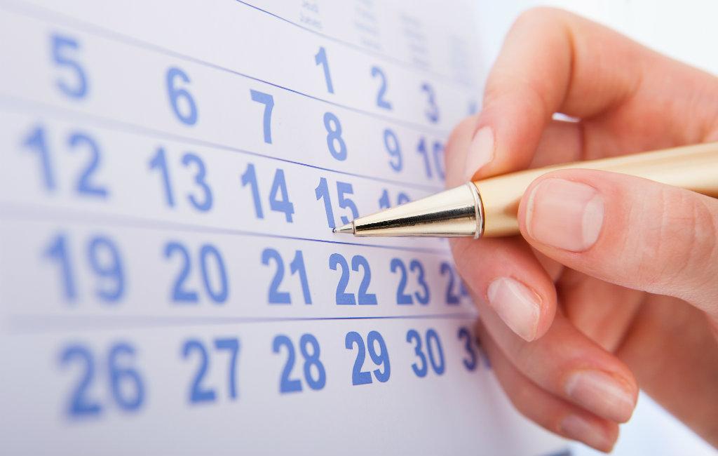 Arbeidskalender Spanje Met Vrije Dagen (2019)