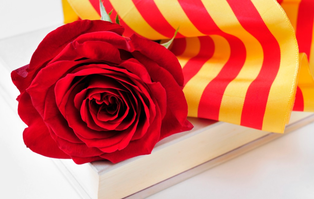23 April: Sant Jordi In Catalonië