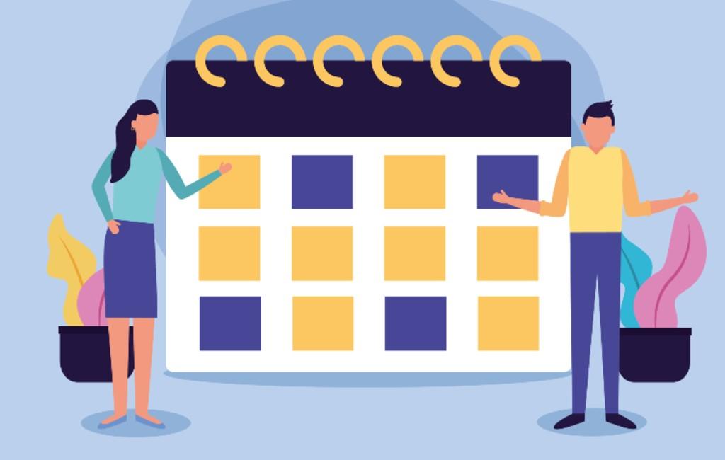 Arbeidskalender Spanje Met Vrije Dagen (2020)
