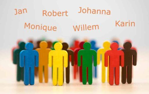 De meest voorkomende Nederlandse en Belgische namen in Spanje