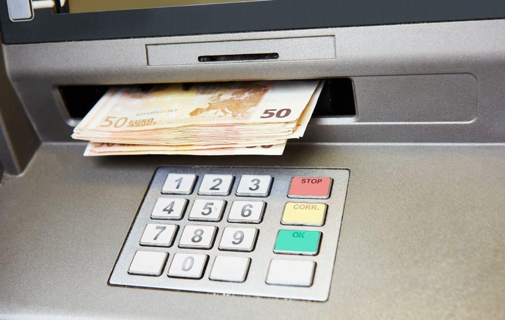 Geld pinnen in Spanje