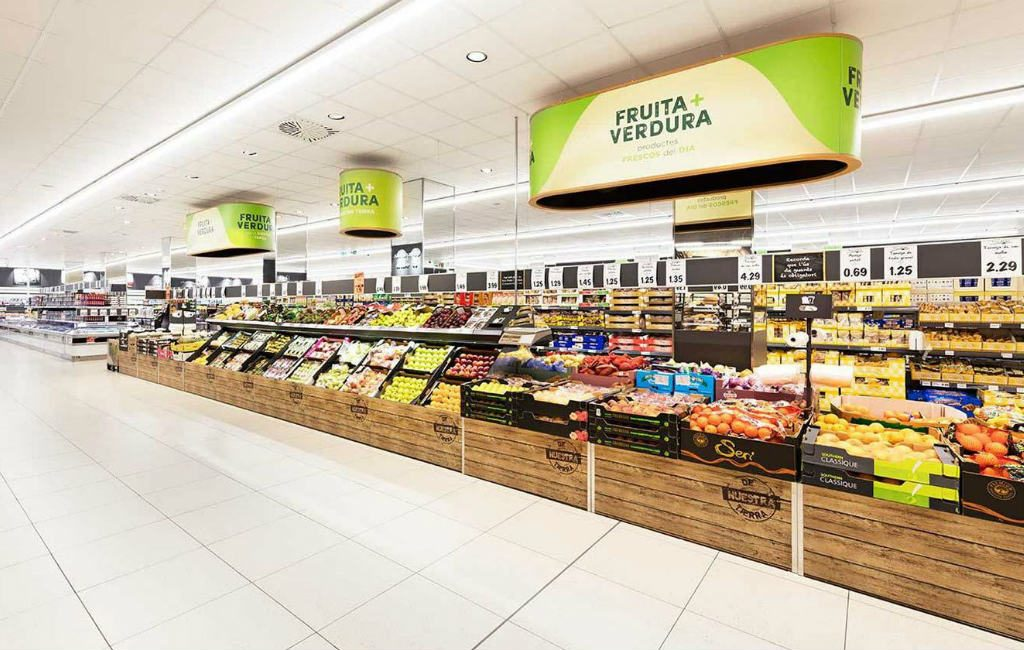 De Lidl supermarkten in Spanje