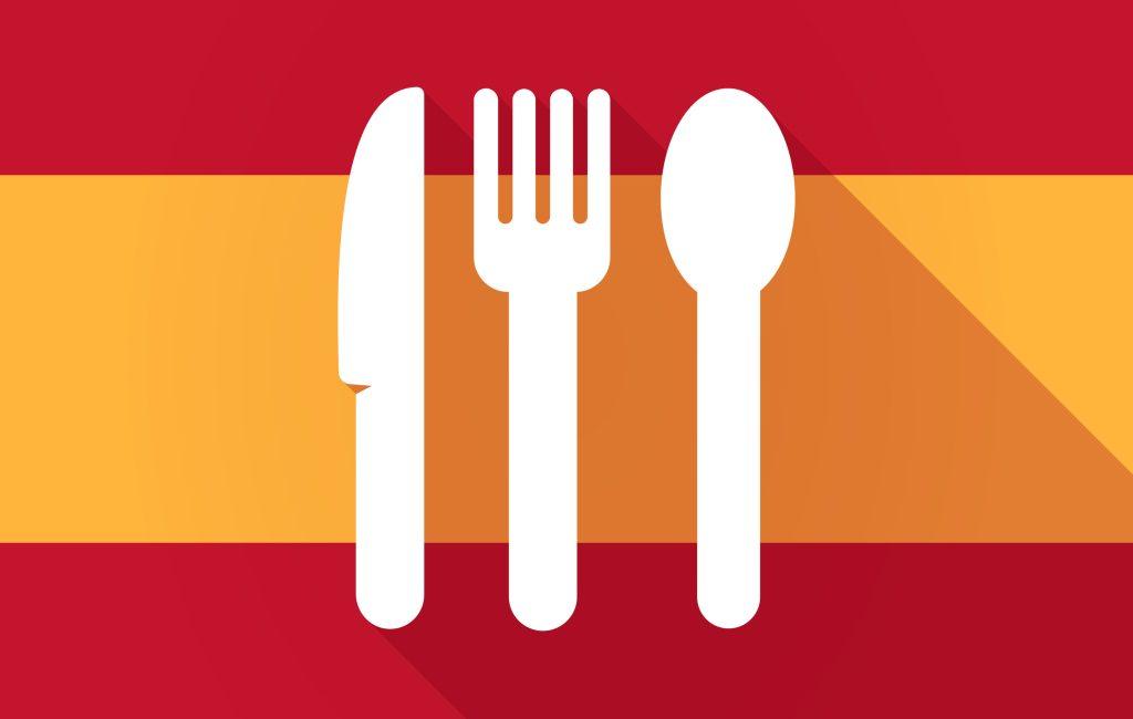 De vijf maaltijd momenten in Spanje