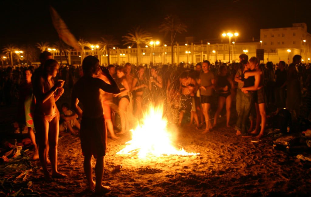 San Juan of midzomernacht in Spanje